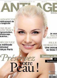 Couverture magazine Anti Age - Dr Hayot, Chirurgien esthétique à Paris 8