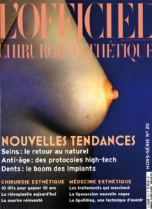 Couverture Santé magazine - Dr Hayot, chirurgien esthétique à Paris 8