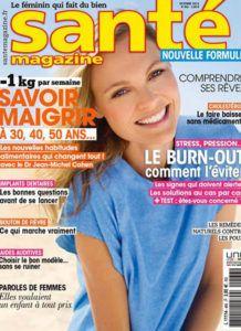 Couverture-4 Santé Magazine - Dr Hayot, Chirurgien esthétique à Paris 8