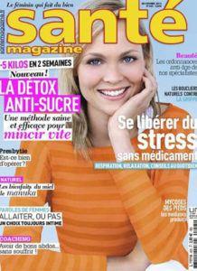 Cover Santé magazine - Dr Hayot, chirurgien esthétique à Paris 8